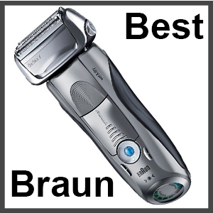 best braun shavers