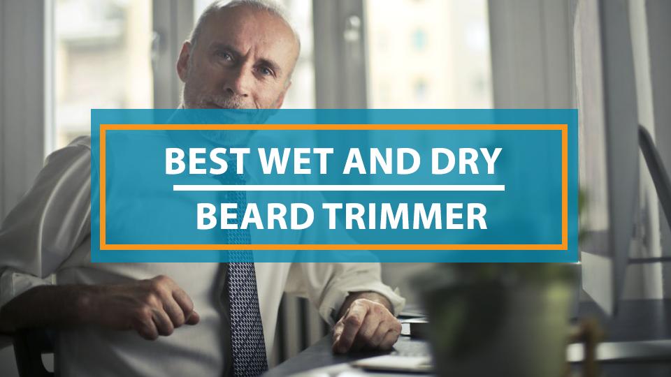 Best Wet Dry Beard Trimmer